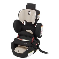 Kiddy World Plus Car Seat in Sand. $299.99  ***FEATURES*** Original Kiddy Protection Shield - Side Impact Protection - Easy Adjustable Headrest - 2-way Folding Seat Cushion - Lightweight Design (Only 15 lb.) - Integrated Shoulder Belt Guides - Durable Cover - Comfortable Armrest - Can be used in aircraft.
