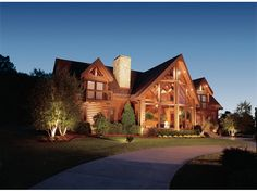 Just Cant Beat This Log Home - plan #073D-0008 | houseplansandmore.com