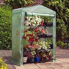 Gardman 4Tier Extra Wide Mini Greenhouse >>> Check out the image by visiting the link. (This is an affiliate link) #GreenhousesAccessories