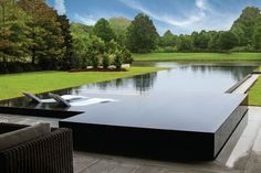 You have a lovely pool, so let's help you maintain it. The bigger The pool is, the bigger the catch basin should be. If you would like such a pool in your backyard, you should be prepared to devote more money on it. Swiming Pool, Luxury Swimming Pools, Luxury Pools, Swimming Pools Backyard, Pool Spa, Hotel Swimming Pool, Lap Pools, Indoor Pools, Dream Pools
