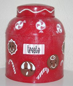 Gingerbread Canister