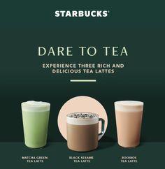 Food Menu Design, Food Poster Design, Starbucks Drink Menu, Honey Chilli Potato, Ice Cream Poster, Dessert Packaging, Coffee Poster, Promotional Design, Tea Latte