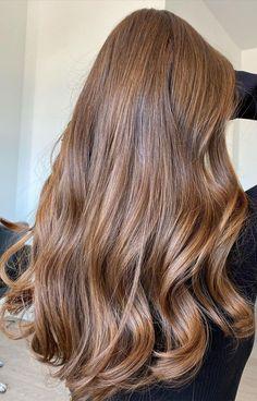 70 Hottest Brown Hair Colour Shades For Stunning Look : Soft Brown Hair Colour Idea