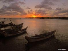 Orla Pôr-do-Sol, Sergipe, Brasil