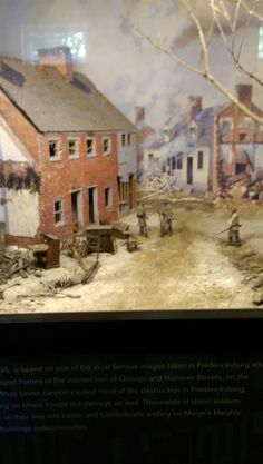 This is a model of what the civil war might have looked like.