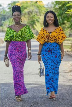 The collection of Beautiful Ankara Pattern Styles For Ladies you've ever wanted to see. Want to style and pattern your African print ankara African Fashion Ankara, African Inspired Fashion, African Print Dresses, African Print Fashion, Africa Fashion, African Dress, Ankara Dress, African Prints, Dress Skirt