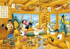 Camping Mickey!