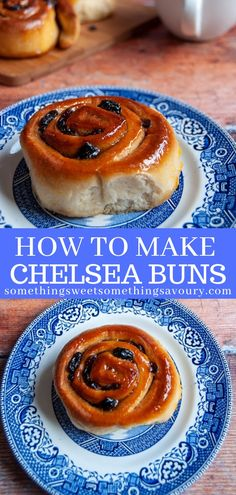 You can't beat a warm, sticky Chelsea Bun fresh from the oven- they are very easy to make at home! Soft,fluffy sticky buns filled with spiced sugar and plump, juicy dried fruit. Bakery Recipes, Brunch Recipes, Sweet Recipes, Dessert Recipes, Cooking Recipes, Bread Recipes, Hp Sauce, Chelsea Bun Recipe, Simply Yummy
