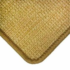 Sisalteppich Sand Naturmaterial mit Umkettelung und Fleckschutz auf Wunschmaß #sisal #sand #naturteppich #bodenbelag #einrichtung Ground Covering, Sitting Rooms