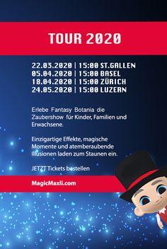 Grosse Zaubershow für Kinder, Familien und Erwachsene, in Zürich, Luzern, St.Gallen und Basel #kinderzauberer #magicmaxli #kidsmagic #zaubershow2020
