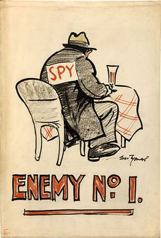 File:INF3-277 Anti-rumour and careless talk Enemy No.1 Artist Bert Thomas.jpg