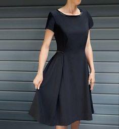 Petite robe noire - Laine-et-Chiffons