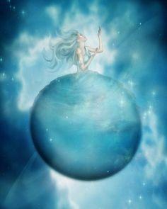 ✯ The Planet Uranus .:☆:. Artist Karen Koski ✯