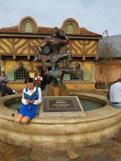 captaincatwoman: Disneybounded Belle on my first... | Disney Bound
