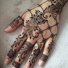 Beautiful Bridal Henna Designs 2018 for Hands