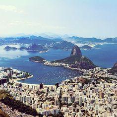 Le BRÉSIL. La PATRIE du CARNAVAL -- Rio de Janeiro, la BAIE de GUANABARA