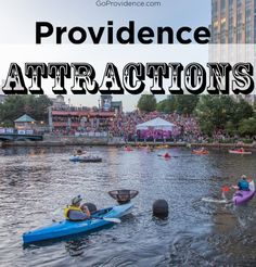 A full list of great attractions all around Providence!