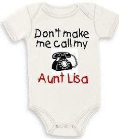 AWHHHHHH!!!! def getting this for my new neice or nephew! except it will say Aunt Dottie