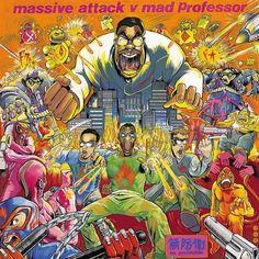 Image result for massive attack v mad professor