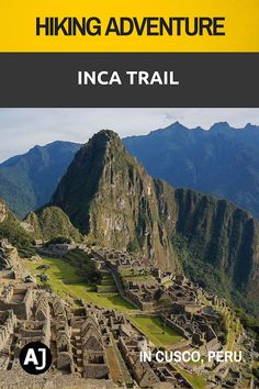 The Classic Inca Trail to Machu Picchu is considered by many as one of the best hikes in the world. It's also the only hiking trail that will take you straight to the ruins of the Inca empire.