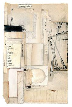 "Melinda Tidwell, Beautiful Century, 2011, book parts, glue, on paper, 5.75"" x 8.0"""