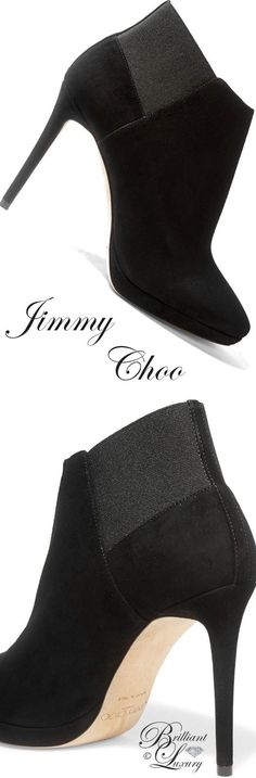 Brilliant Luxury by Emmy DE ♦Jimmy Choo Talula suede ankle boots