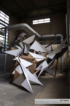 Martin Böttger – Rauminstallation Dark Biwak