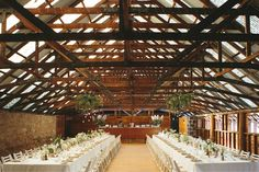 LETTUCE & CO - STYLE. EAT. PLAY 'matt + emma - wedding in at the mountains'. mountain wedding ceremony. country wedding. barn wedding. hanging installation. foliage installation. hanging foliage. edisson bulb drop lighting. concept, design and styling by lettuce & co