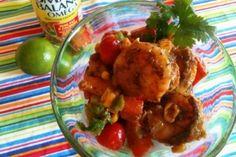 Smart Balance Recipe - Shrimp Avocado Corn Salad