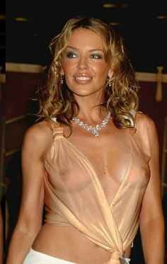 Kylie Minogue ; flash photography and digitalisation has worlds of its own.