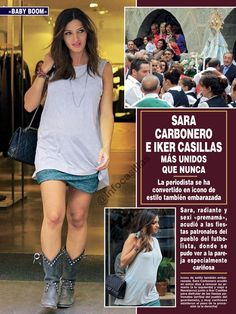 pregnant and still in style Sara Carbonero