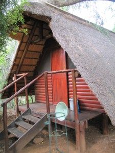 a hut at olifants wilderness trailscamp Kruger National Park, National Parks, Wilderness Trail, Stuff To Do, Things To Do, Backpacking Trails, Wooden Slats, Garden Bridge, Outdoor Structures