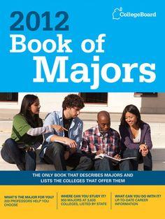 Book of Majors 2012 College Board