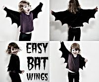 How to make bat wings. Perfect to add to dress up clothes.