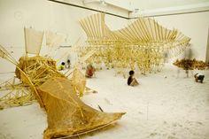 Em uma colaboração entre o paisagista japonêsEiki Danzuka e o artista holandêsTheo Jansen - sob a direção deEarths...