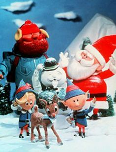 I love the old Rankin & Bass Christmas Specials!