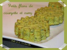 Flans de courgettes au curry, Recette par LoloTambouille - Ptitchef