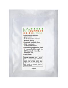 3 My Support Shake Samples - 1 Creamy Chocolate, 1 Vanilla Bean, 1 Spiced Chai - Go Healthy Products Inc.