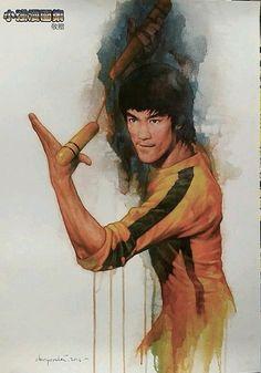 无标题 — kungfu-online-center: Wow,so cool bruce lee! Bruce Lee Art, Bruce Lee Martial Arts, Bruce Lee Quotes, Martial Arts Movies, Martial Artists, Art Of Fighting, Jeet Kune Do, Brandon Lee, Enter The Dragon