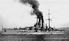 Austro-Hungarian dreadnought battleship of the Tegetthoff class, SMS Viribus Unitis.[3945 x 2344]