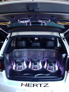 I am a car audio enthusiast. I have been working on my own trunk audio system for the past year.