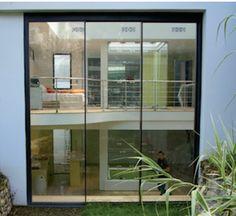 baie coulissante galandage k line fenetre en aluminium. Black Bedroom Furniture Sets. Home Design Ideas