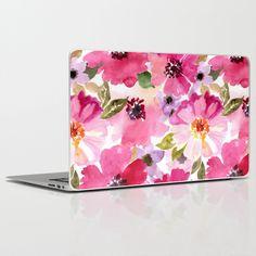 Floral Laptop Skin