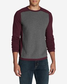 2bb0579c8e Men s Talus Textured Crewneck Sweater
