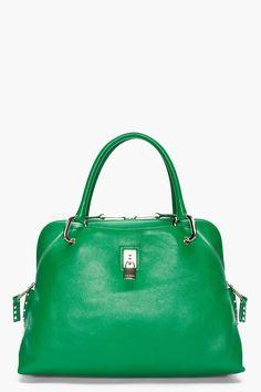Marc Jacobs, emerald bag.