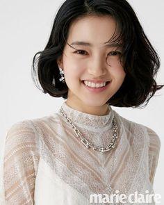 Kim Tae-ri (김태리) for Marie Claire November 2018 Korean Actresses, Actors & Actresses, Straight Eyebrows, Hair Reference, Models, Korean Beauty, Malta, My Idol, Beauty Women