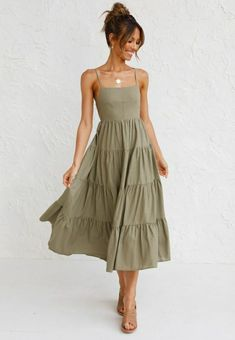 Cute Casual Outfits, Pretty Outfits, Summer Outfits, Summer Dresses, Dress Skirt, Dress Up, Fasion, Fashion Outfits, Ladies Fashion