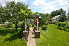 Historic Frederick Wolf House c.1753 - Backyard