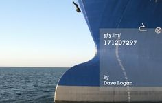 Stock Photo : Big Bulbous Bow of OIl Tanker