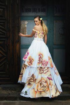 Mano Pintados Art Mejores Vestidos Dolls Novia Imágenes De 12 A awqUB0